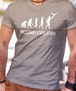 camiseta-falconry-evolution-gris
